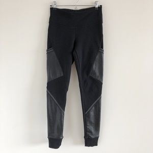 🆕 Athleta Urban Cozy Tight Black Fleece-Lined S